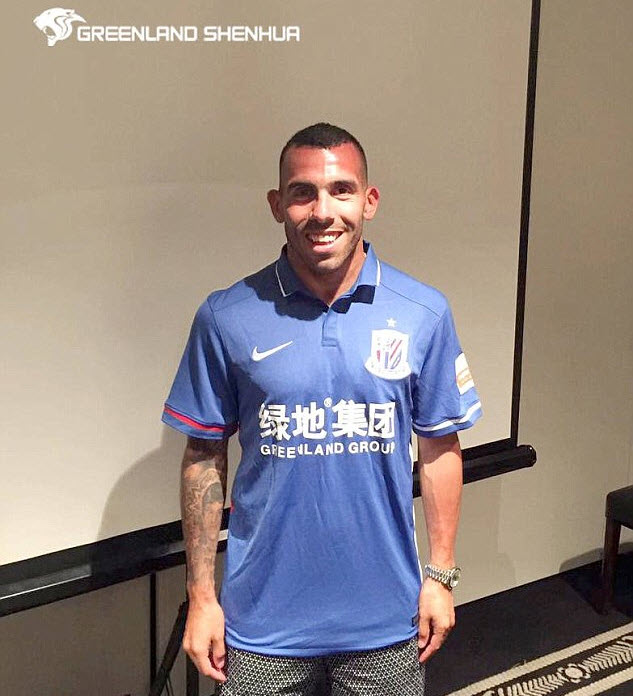 Carlos Tevez Resmi Pindah ke Klub Liga China