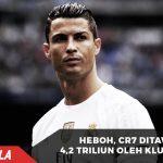 Wow, Klub China Tawar Ronaldo dengan Mahar Rp 4,2 Triliun