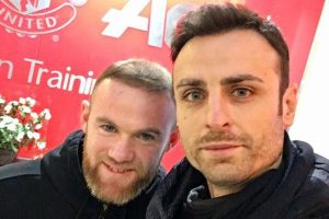 Dimitar Berbatov Jalani Training di Manchester United