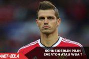 Morgan Schneiderlin Pilih Everton Atau WBA