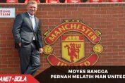 Moyes Merasa Bangga Pernah Melatih Man United
