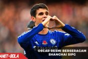 Oscar Resmi Berseragam Shanghai SIPG