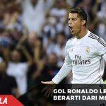 Gol Ronaldo lebih berarti daripada Gol Messi