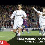 Dipucuk, Real Madrid Tak Ingin Pikirkan Hasil El Clasico