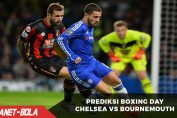 Prediksi Laga Boxing Day Chelsea Vs Bournemouth