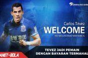Tevez Pemain Baru Bergaji Paling Tinggi di Liga China