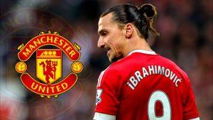Zlatan Ibrahimovic Andalan United di Lini Depan