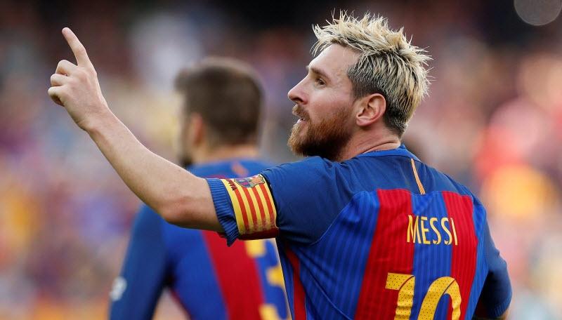 Lionel Messi Tampil Apik Bersama Barcelona
