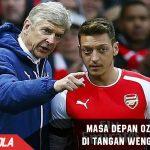 Ozil Pastikan Masa Depannya Ada di Tangan Wenger