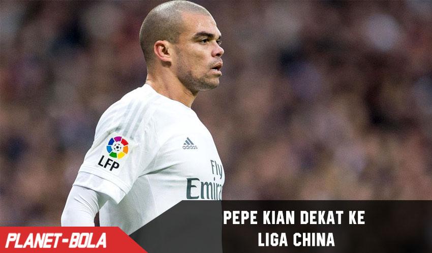 Pepe Kian Dekat ke Liga China