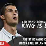 Cristiano Ronaldo Cetak rekor baru dengan Assistnya