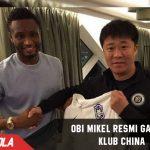 John Obi Mikel Resmi Gabung Klub Liga China