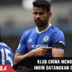 Tianjin Quanjian Mengaku inginkan Diego Costa