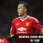 Memphis Depay sudah mendarat di Lyon?
