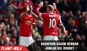 Rashford Kagun Dengan Jumlah Gol Rooney