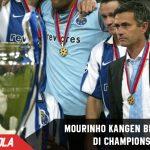 Mourinho Rindu Atmosfer bermain di Liga Champions