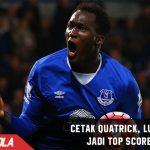 Cetak Quatrick, Striker Everton ini jadi Top Scorer Liga Inggris