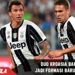 Juventus pakai duo Kroasia di Formasi Barunya