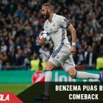 Benzema Puas dengan Comebacknya Real Madrid