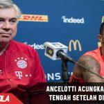 Carlo Ancelotti acungkan jari tengah setelah diludai Fans Hertha