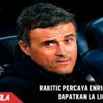 Rakitic percaya Enrique bisa beri Trofi la liga sebelum pergi