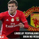 Lindelof bikin Man United resah setelah memperpanjang kontraknya