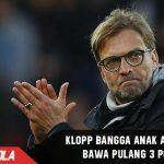 Walau tidak puas, Klopp bangga Liverpool dapat 3 point