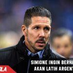 Diego Simeone ingin segera melatih Argentina
