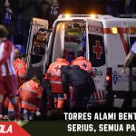 Heboh! Fernando Torres alami cidera serius, Simeone panik