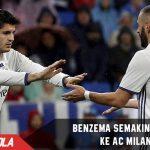 Morata makin bagus, Milan coba bujuk Benzema