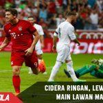 Waspada! Lewandowski akan main melawan Madrid