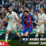 Meski kalah, Real Madrid masih menjadi Favorit juara La Liga