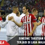 Simeone takutkan Extra time terjadi di laga melawan Real Madrid