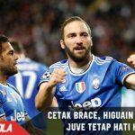 Cetak Brace lawan Monaco, Higuain ingatkan Juve agar tetap hati hati