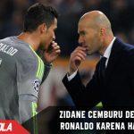 Zidane cemburu dengan Ronaldo karena hal ini