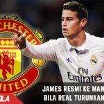 Kepincut dengan James, Man United minta Real turunkan Harga