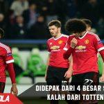 Kalah tipis, Tottenham buat Man United keluar dari 4 Besar