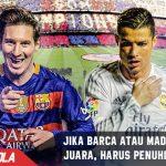 Bila ingin juara, Barcelona dan Real Madrid harus penuhi hal ini