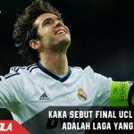 Kaka sebut Real Madrid vs Juve adalah Final yang indah