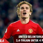 Datangkan 4 Pemain, Man United gelontorkan dana sebesar 3,4 triliun