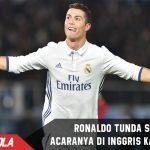Waspada bom susulan, Ronaldo Tunda semua acaranya di Inggris