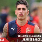 Bellerin tegaskan Bertahan di Arsenal dan Tidak tertarik ke Barca