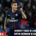 Memanas! Kluivert tak ijinkan PSG lepas Verrati ke Barcelona
