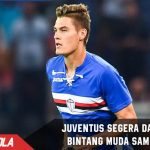 Sudah jalani Tes Medis, Juventus segera punya Bintang muda dari Sampdoria