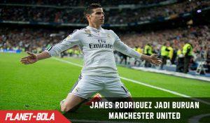 James Rodriguez Jadi Buruan Manchester United