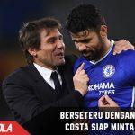 Berseteru dengan Conte, Costa siap untuk Minta Maaf