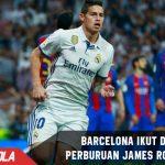 Dikabarkan pindah dari Madrid, Barcelona gerak cepat untuk James