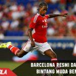 Barcelona Resmi dapatkan fullback muda asal Benfica