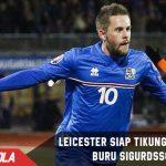 Leicester siap tikung Everton dalam perburuan Sigurdsson