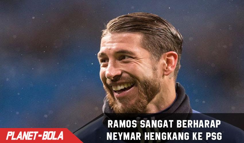 Ramos Sangat Berharap Neymar Pindah Ke PSG
